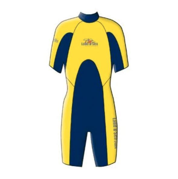Palm Beach Spring Suit - Navy/Yellow (Size 16)