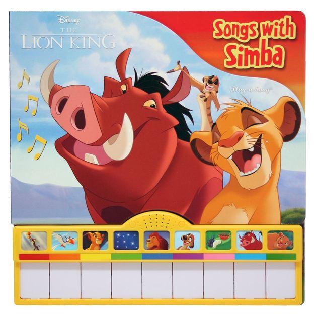 The Lion King – Piano Book Board Mini Deluxe