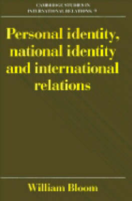 Cambridge Studies in International Relations: Series Number 9 by William Bloom image