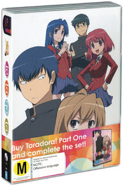 Toradora!! - Part Two (3 Disc Set) on DVD