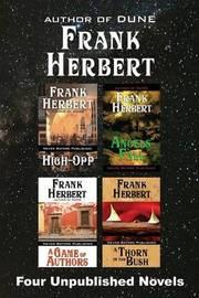 Four Unpublished Novels by Frank Herbert