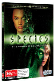 Species - The Complete Evolution (4 Disc Set) on DVD