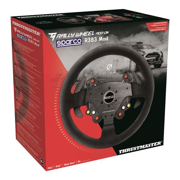 Thrustmaster SPARCO R383 Mod Rally Wheel Add On for PS4