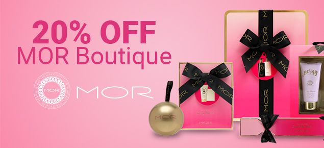 20% off MOR Boutique