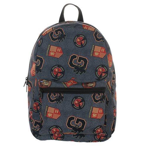 Harry Potter Gryffindor Print Backpack