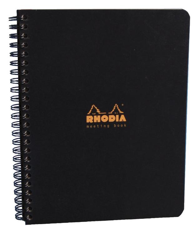 Rhodia Classic Meeting Book A5 - Black