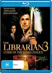 The Librarian 3 - Curse Of The Judas Chalice on Blu-ray