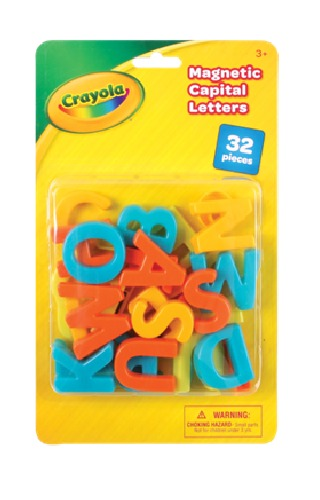 Crayola: Magnetic Letters (Upper Case) - (32pc) image