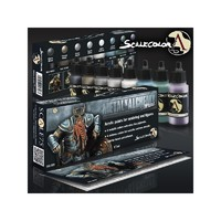 Scale75 Paint Set: Metal N' Alchemy Steel Series