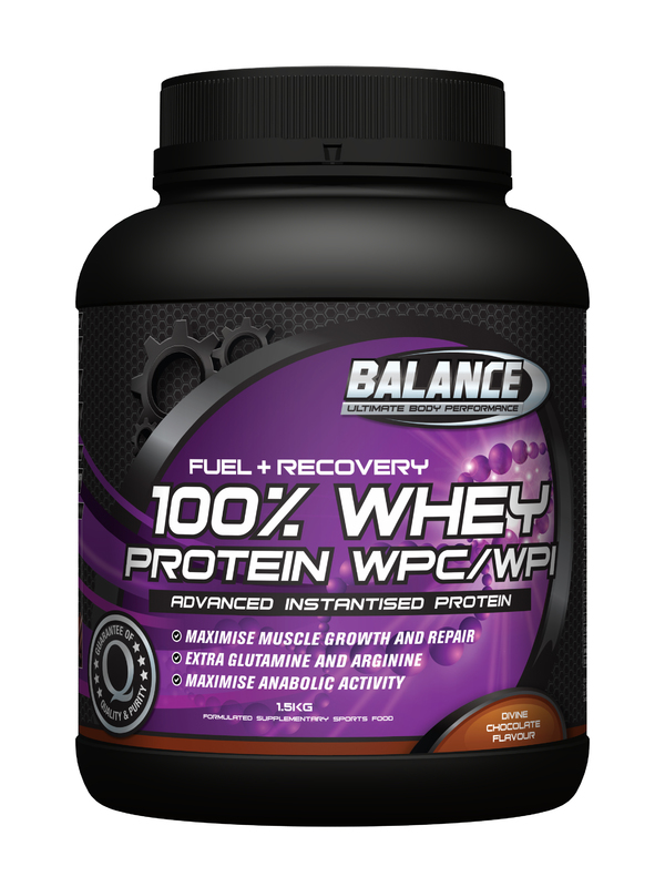 Balance 100% Whey Protein 'Original' - Chocolate (1.5kg)