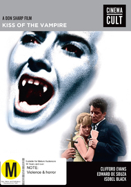 Kiss Of The Vampire on DVD