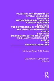 Practical Orthography of African Languages by International African Institute