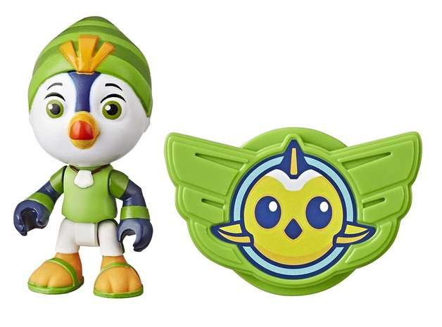"Top Wing: Brody - 3"" Action Figure & Badge"