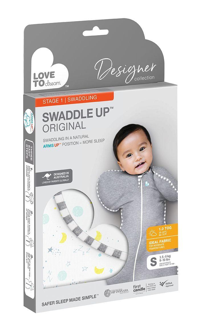 Love to Dream: Swaddle Up Designer 1.0 Tog Celestial Nights - Medium image