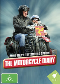 James May's Toy Stories Special: The Motorcycle Diary on DVD