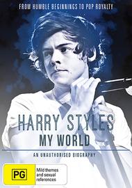Harry Styles: My World on DVD
