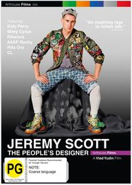 Jeremy Scott - The People's Designer on DVD
