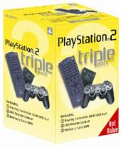 Sony Peripheral Triple Pack for PlayStation 2