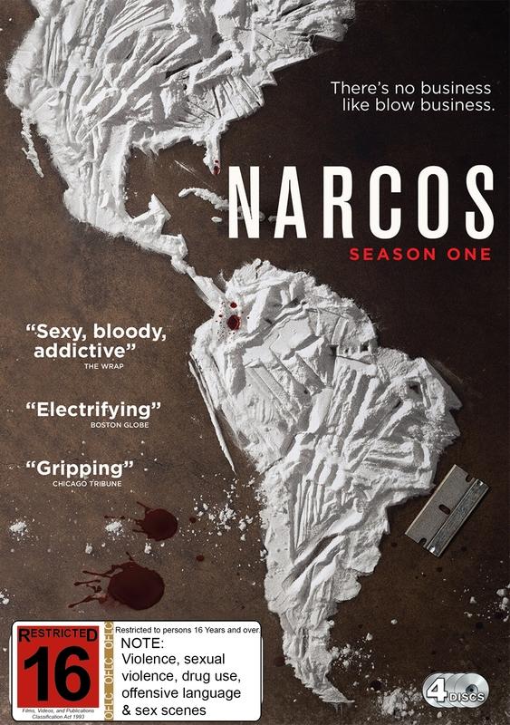 Narcos Season One on DVD