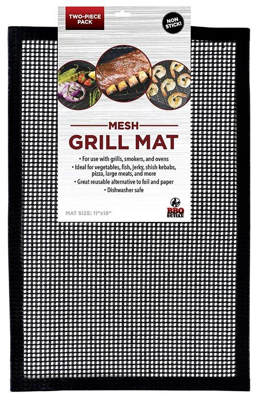 BBQ Butler - Non-Stick Mesh Grill Mat (2-Pack)