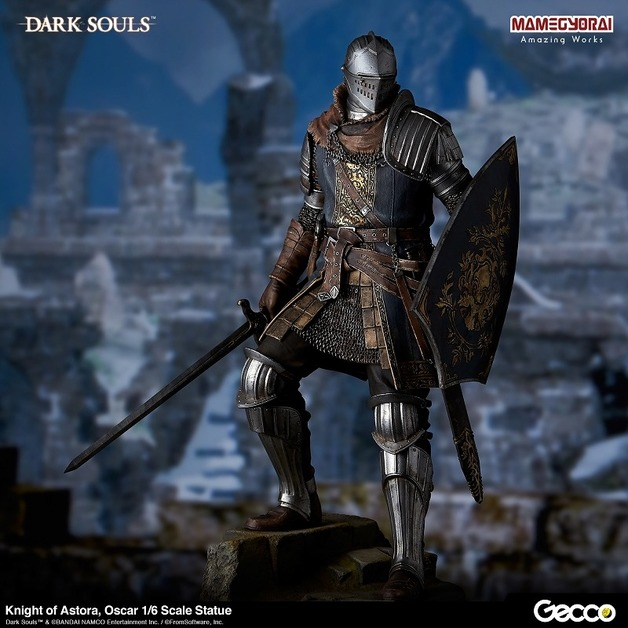 "Dark Souls: Knight of Astora Oscar - 12"" Statue"