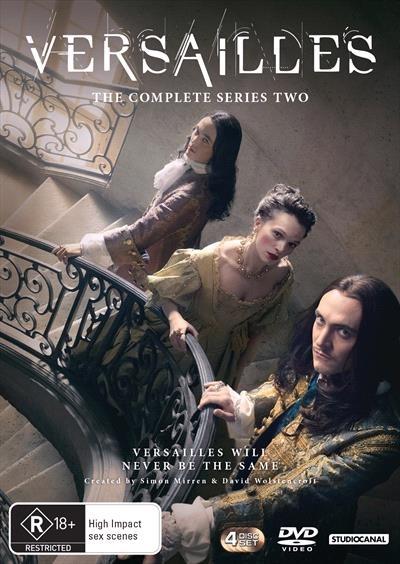 Versailles Season 2 on DVD image