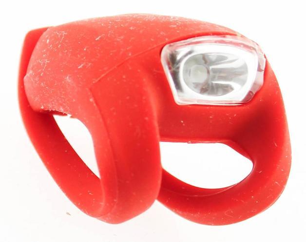 Knog Frog Strobe - Front (Red)
