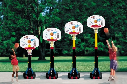 Little Tikes: Easy Store - Basketball Set image