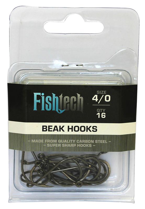 Fishtech Beak Hooks 4/0 (16 per pack)