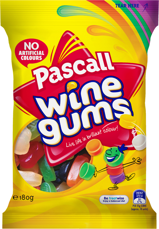 Pascall Wine Gums (180g)