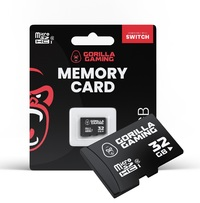 Gorilla Gaming Switch 32GB Memory Card for Switch
