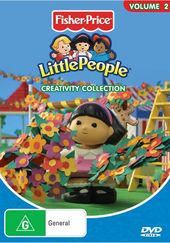 Little People - Vol. 2: Creativity Collection on DVD