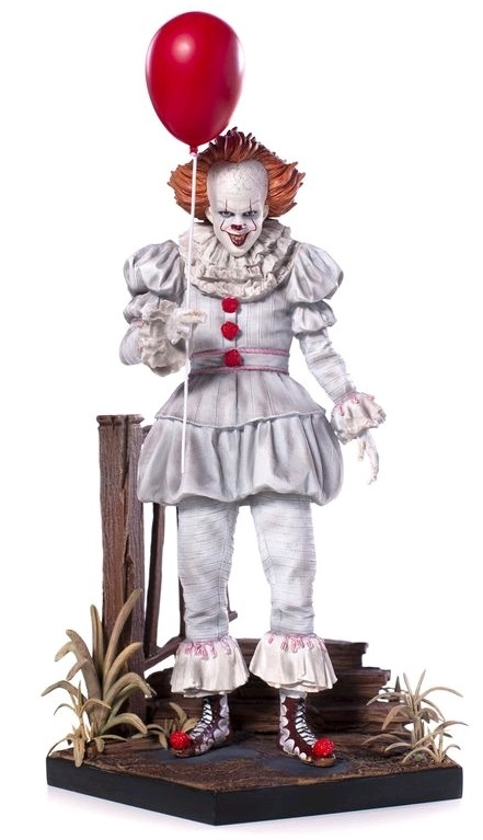 It (2017): 1/10 Pennywise (Deluxe) - Art Scale Statue