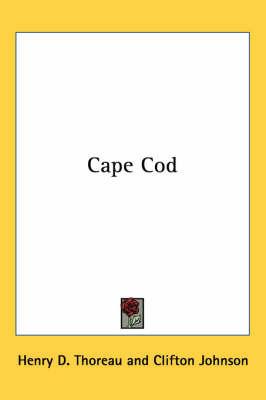 Cape Cod by Henry David Thoreau image