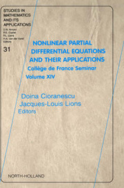 Nonlinear Partial Differential Equations and Their Applications: Volume 31 by Doina Cioranescu