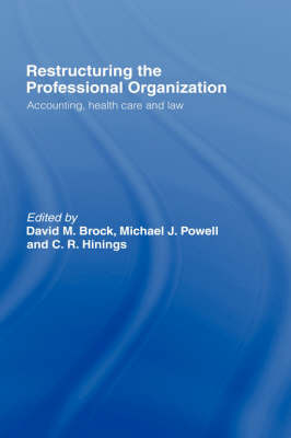 Restructuring the Professional Organization image