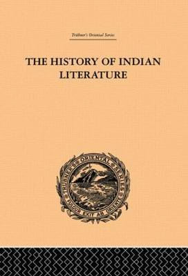 The History of Indian Literature by Albrecht Weber image