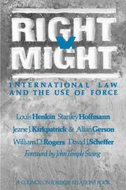 Right V. Might by Louis Henkin image