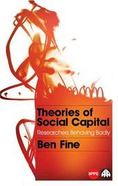 Theories of Social Capital by Ben Fine image