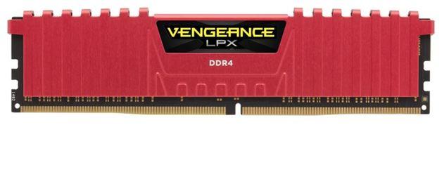 16GB Corsair Vengeance LPX (2x8GB) DDR4 DRAM 2666MHz C16 Memory Kit - Red