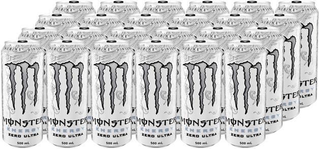 Monster Energy Zero Ultra Drink 500ml 24pk