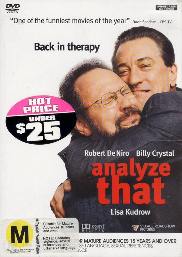 Analyze That on DVD image