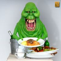 Ghostbusters: Slimer - 1:4 Scale Statue