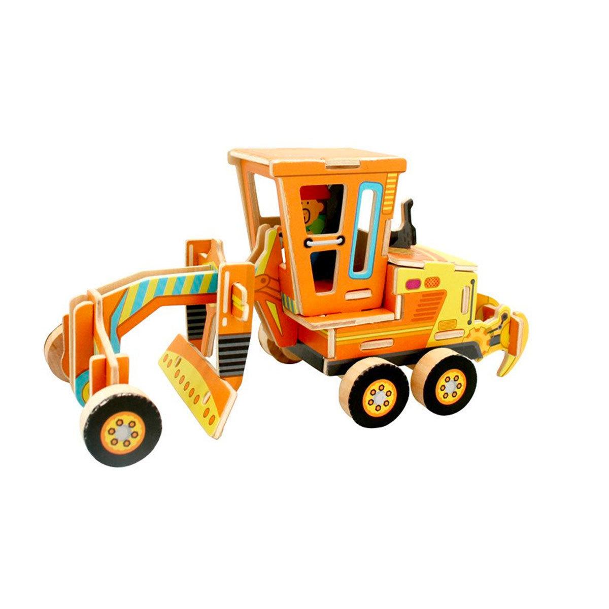 Robotime: Grader Consruction Vehicle image