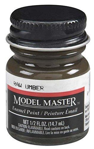 Testors: Enamel Paint - Raw Umber (Flat)