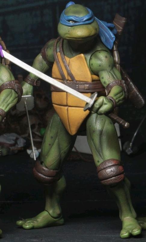 """Teenage Mutant Ninja Turtles: Leonardo (1990 Ver.) - 7"""" Action Figure"""