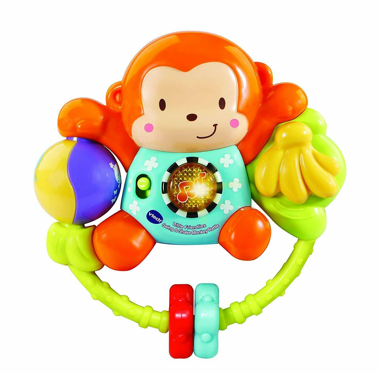 Vtech: Little Friendlies - Swing & Shake Monkey Rattle image