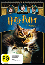 Harry Potter and the Philosopher's Stone - 1 Disc (New Packaging) on DVD