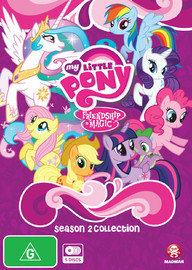 My Little Pony: Friendship Is Magic Season 2 Collection on DVD