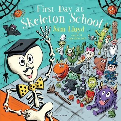 First Day at Skeleton School by Sam Lloyd image